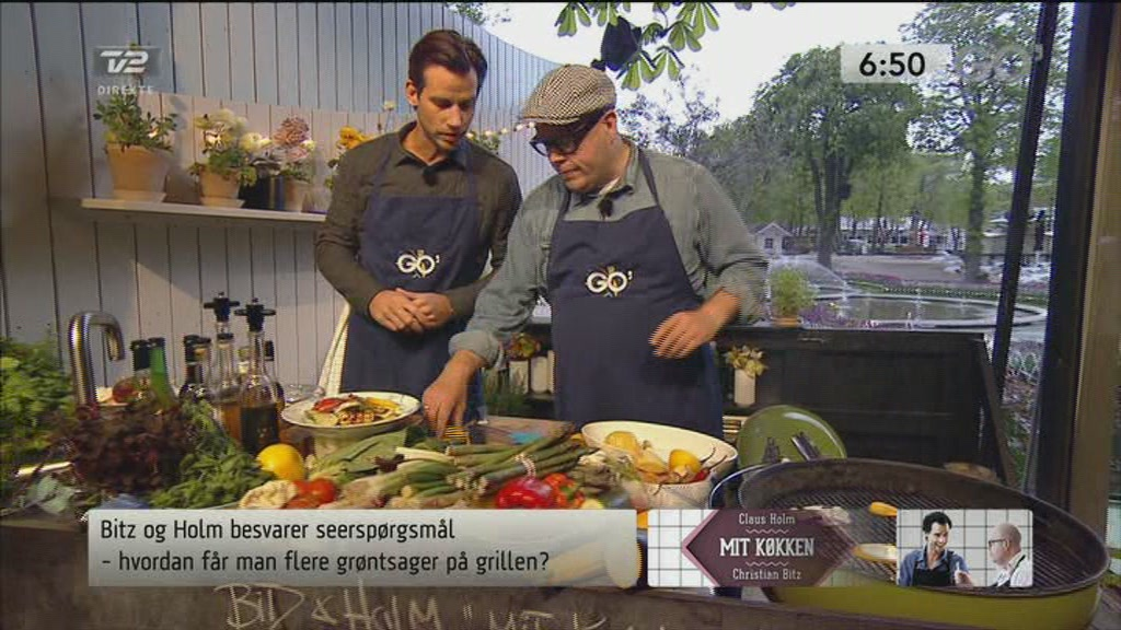 Mit k&oslash;kken: Gr&oslash;ntsager p&aring; grillen  Still