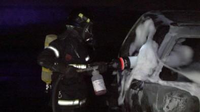 Parkerede biler udbrændt i Næstved