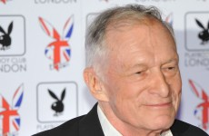 Playboy Club opens in London, Hugh Hefner