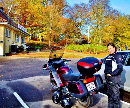 Mctur til Himmelbjerget på en varm 1. November