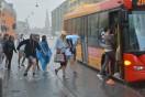 Galleri: Regn, hagl, torden og skypumper over Dammark  den 26/6 2014