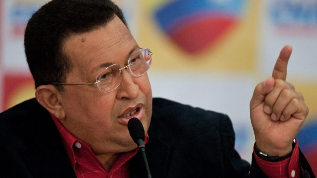 HUGO CHAVEZ PRESS CONFERENCE AS PRESIDENTIAL CANDIDATE