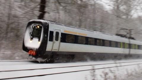 forsinkelser på tog