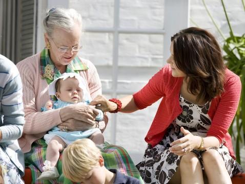 Med familien 4 august 2007 1 af 13 billeder den kongelige familie